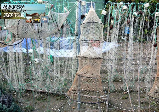 wie der Jagd oder dem Reisanbau, ist das Angeln die taditionellste und älteste Tätigkeit in dem Albufera Park
