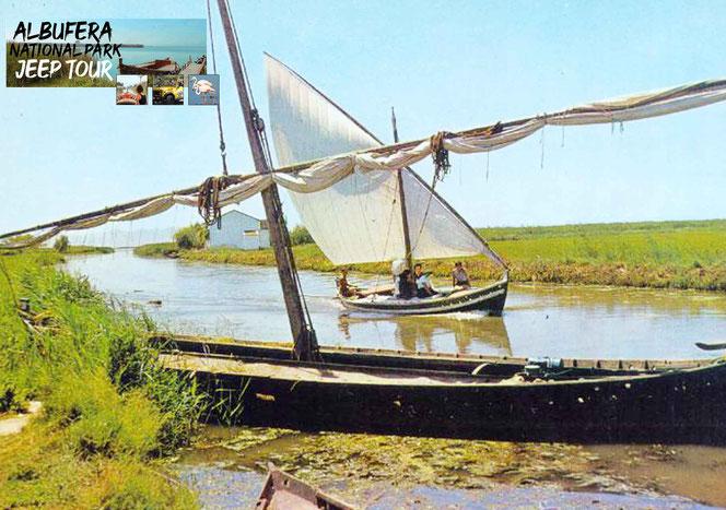 insbesondere auf dem Albufera See in Valencia dient es als wichtigste Transportmittel für die Fischerei und der Landwirtschaft.