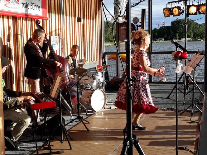 Jazz-Konzert am Wöhrder See 30.06.2021, Foto: Birgit Paulsen