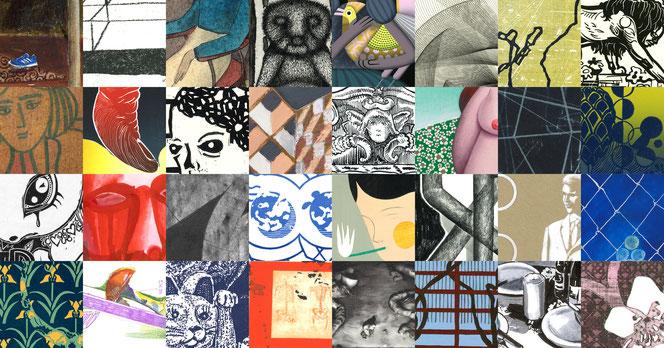 Vierundzwanzigmaldreissig – Künstler der Galerie Thaler Arbeiten auf Papier