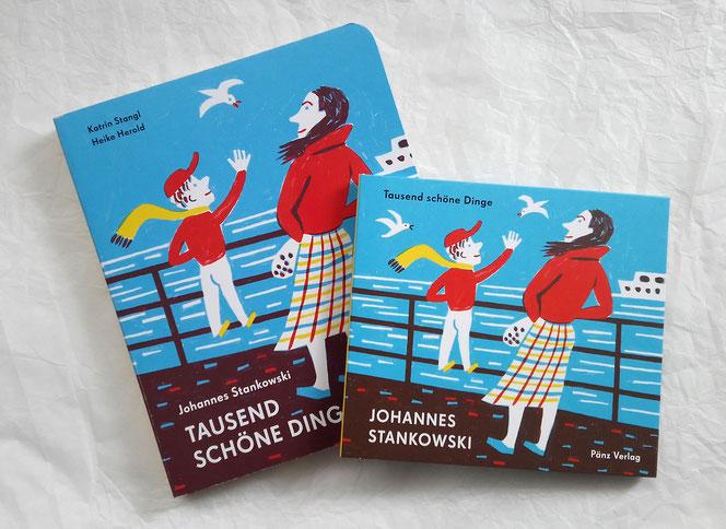 Pappbilderbuch und CD  mit Illustrationen von Heike Herold und Katrin Stangl zu Liedern von Johannes Stankowski