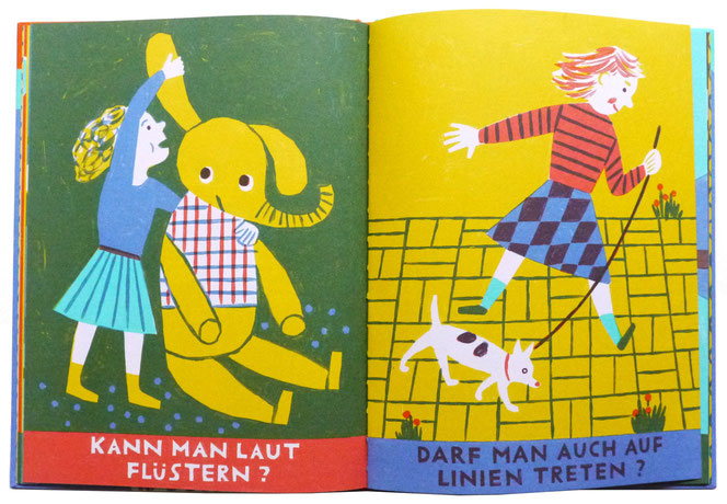 Schwimmt Brot in Milch? Kinderbuch Illustration Katrin Stangl