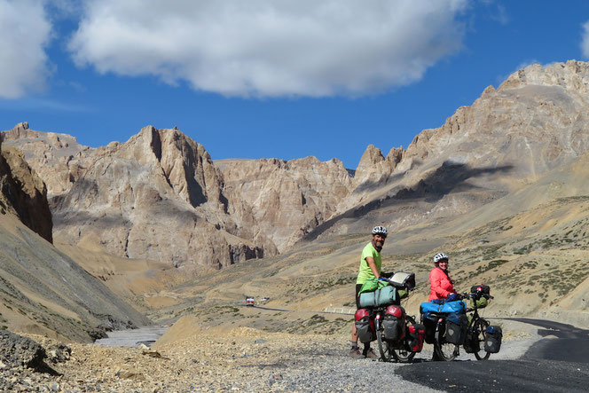 Im Aufstieg zum Taglang La, 5360 m ü.M.