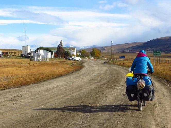 Der internationale Grenzübergang von Argentinien kurz vor Villa Cerro Castillo.
