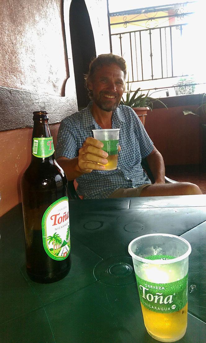 Das letzte Bier in Nicaragua!