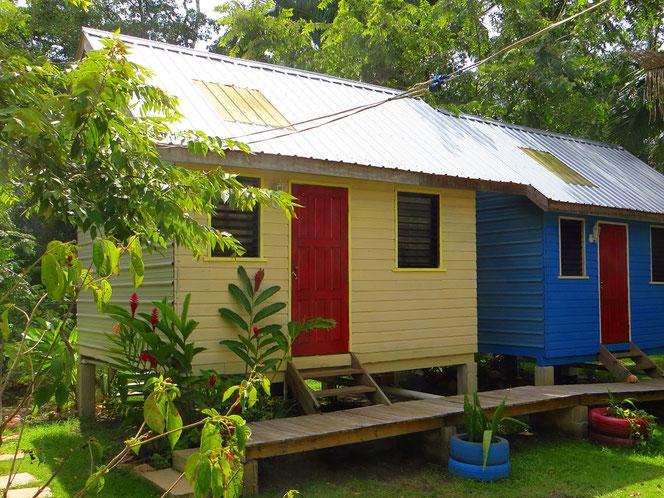 Belmopan. Ein Häuschen nur für uns und Gemüse aus dem Garten.