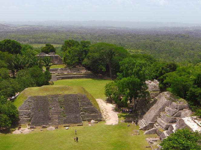 Xunantunich bei San Ignacio. Die Mayastadt wurde bereits um das Jahr 50 n.Chr. von ihren Bewohnern verlassen.