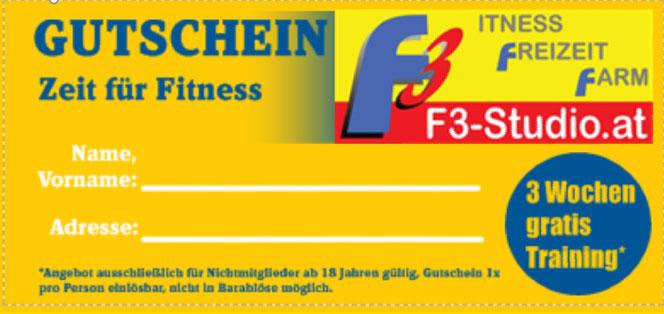 3Wochen Gratis Probetraining *exkl. Trainings-            und Ernährungsplan