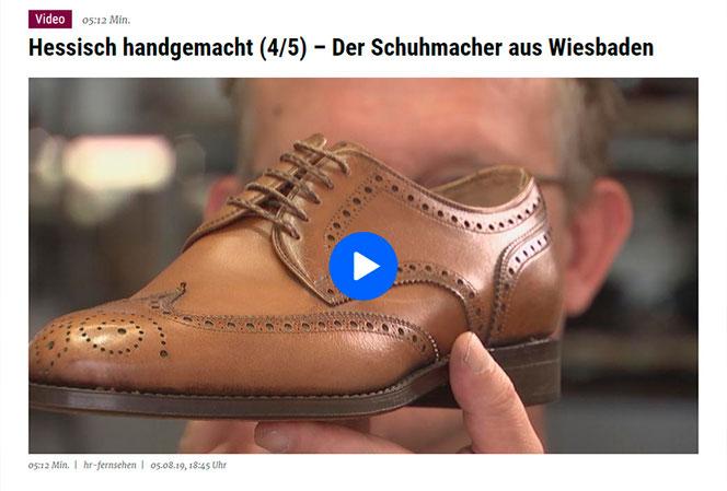Portrait der Schuhmacherei Baumbach über 4 Generationen Schuhmacherhandwerk und Tips zu Schuhen und Schuhpflege.