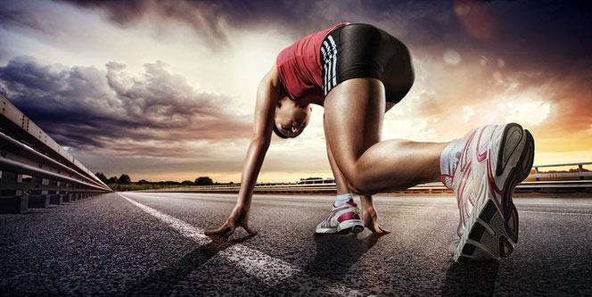 Laufen ist gut, aber mit der Geschwindigkeit steigt auch die Verletzungsgefahr.