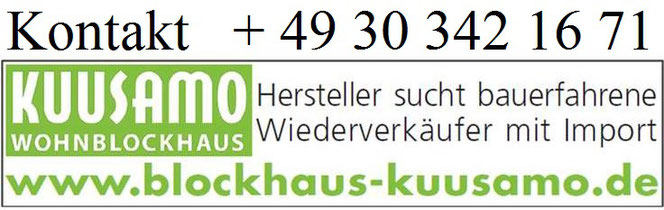 Wir suchen Baufirmen mit Vertrieb in Saarland - Blockhäuser zum Wohnen in echter massiver Blockbauweise - Hochwertige massive Holzhäuser in Blockbauweise  - Einfamilienäuser - Wohnhaus - Neubau - Holzarchitektur - Blockhausbau - Saarbrücken - Homburg