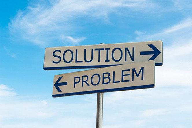 Sabine Konschak - Integrative Softwarelösungen - 2 Wegweiser - Problem und Lösung