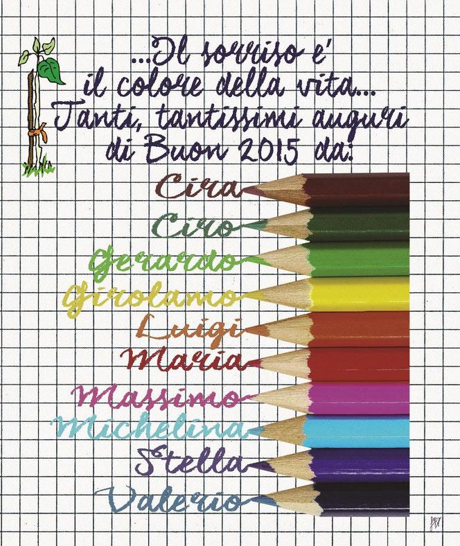 Copertina Calendario 2015 - il germoglio