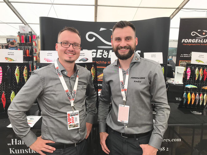 Forge of Lures bei der Fishing Masters Show 2019 in Stralsund