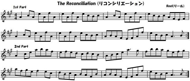 アイリッシュ音楽 楽譜 フィドル バイオリン