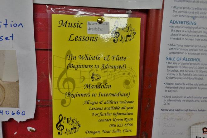 アイルランド 音楽 留学