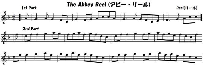 アイリッシュ音楽 フィドル バイオリン 楽譜