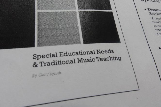 アイリッシュ音楽 学校 教室