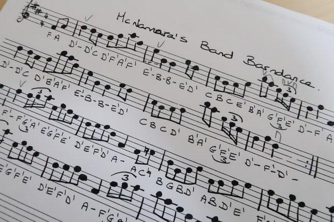 アイリッシュ音楽 ABC譜