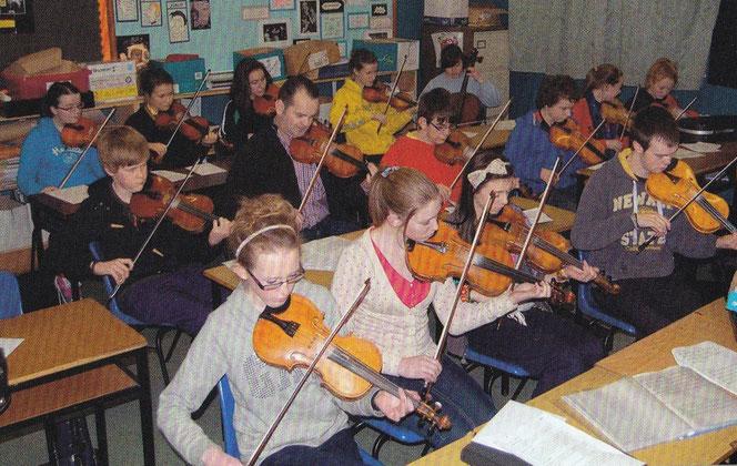 フィドル教室 ヴァイオリン