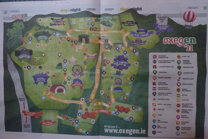 Oxegen アイルランド 音楽フェスティバル
