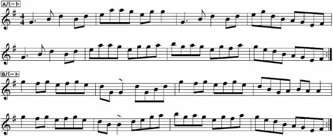ケルト民族音楽 楽譜