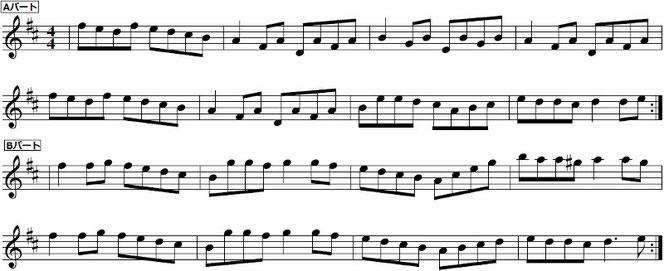 北欧ケルト 楽譜