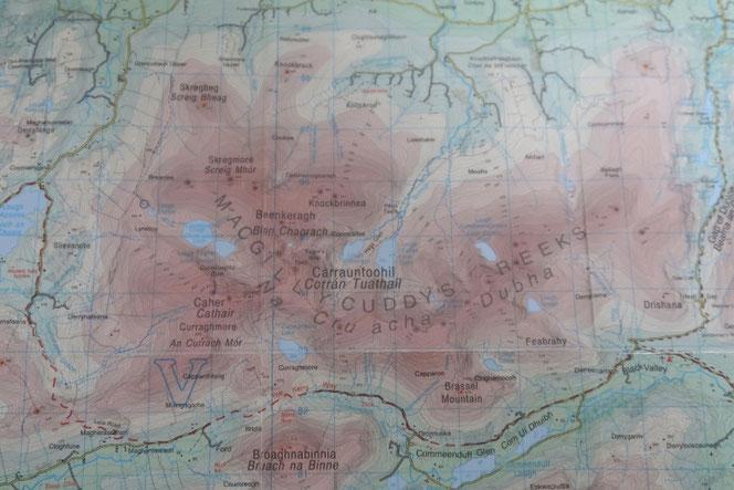 アイルランド 地図