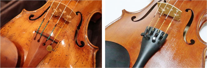 バイオリン アジャスター テールピース