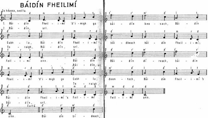 アイリッシュ音楽 シャンノース ゲール語 歌詞