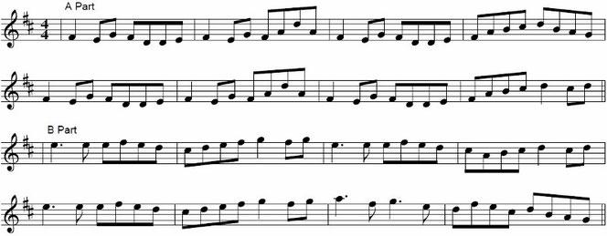 アイリッシュ音楽 楽譜 リール