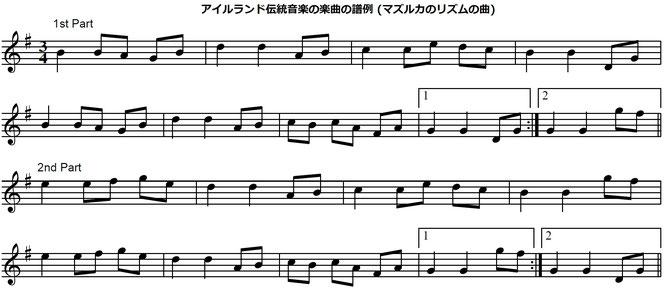 アイリッシュ音楽 ヴァイオリン