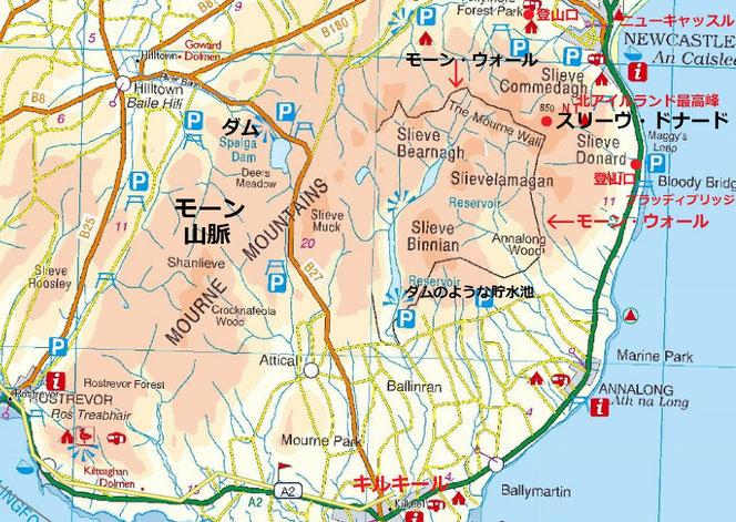 北アイルランド 地図
