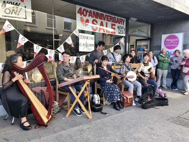 アイリッシュ音楽 日本人 演奏家