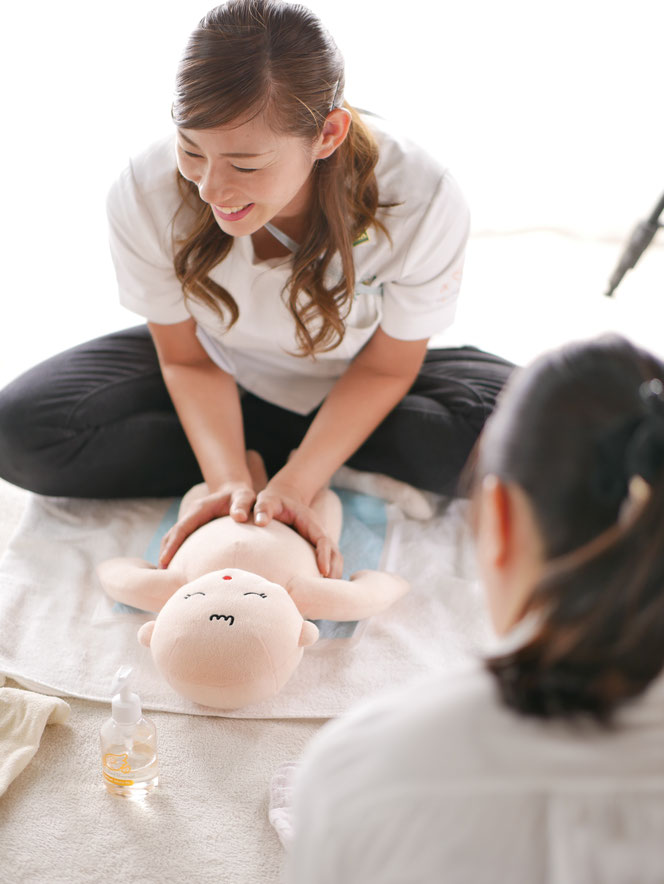 RTA指定スクール ベビーマッサージ教室 mokomo