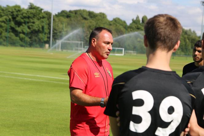 Avant d'être coach, Fabrice Vandeputte a été joueur, notamment à Louhans-Cuiseaux puis Beauvais en Division 2