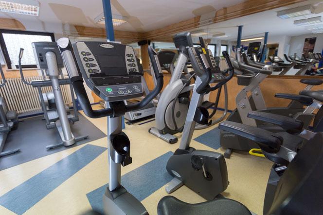 Ergometer Fitnesstreff Hüttisch, MATRIX Laufbänder, MATRIX Ergometer, MATRIX Hybrid Bike, Fitnesstreff Hüttisch, Johnson Laufbänder, Life Fitness Crosstrainer, gym80