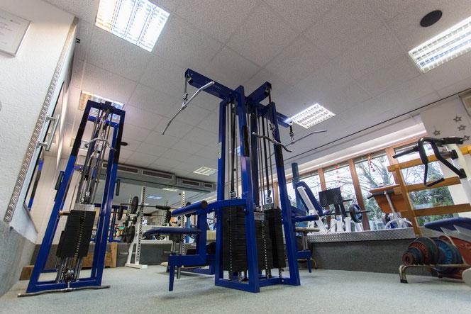 gym80, Zugapparate Fitnesstreff Hüttisch