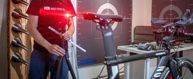 iQ kinetikFIT Bikefitting, Laufanalysen und Bewegungsoptimierung