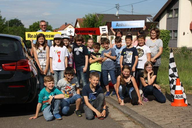 4. Klasse Grundschule Wiesbach