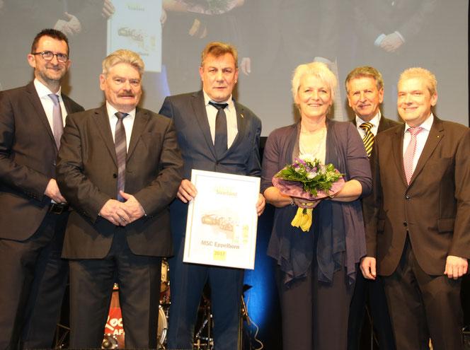 Ortsclub des Jahres 2017, MSC Eppelborn