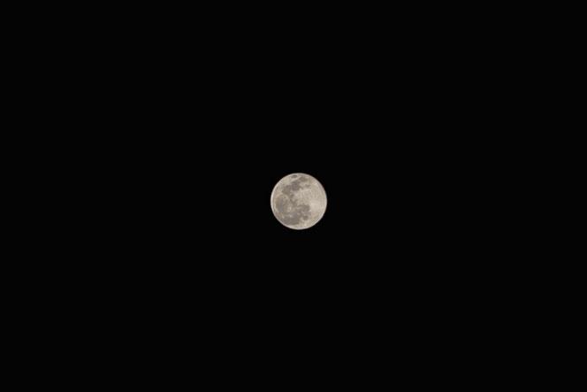 二月九日の満月
