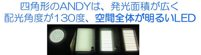 ANDY-LDSのひかり方 プール用LED