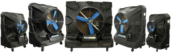 ポートアクール冷風機で熱中症WBGT対策について