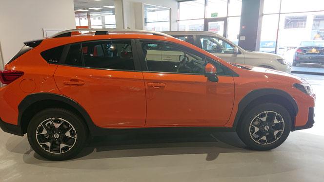 Subaru XV Premium, максимум 4 пассажира