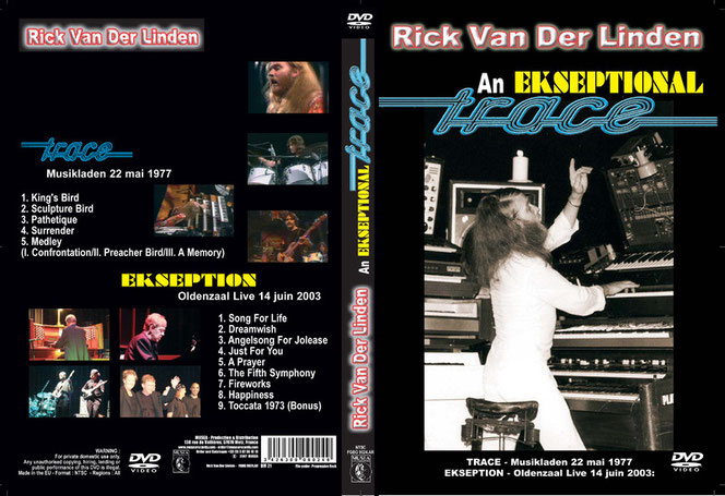 Das Cover der Ekseption_DVD