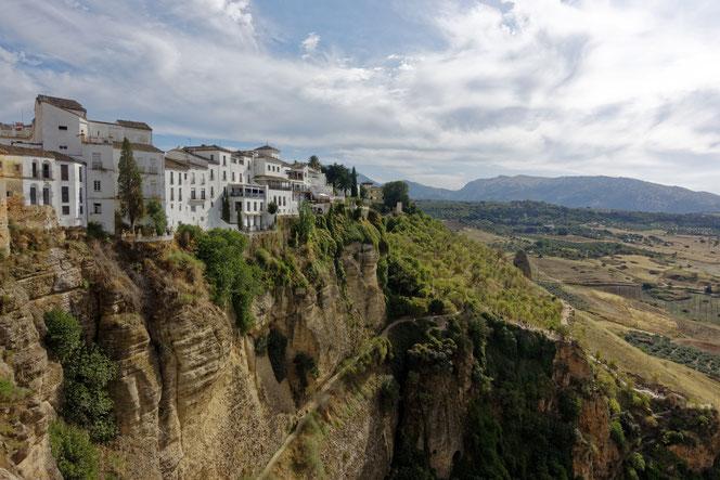 Altstadt von Ronda auf einem Felsplateau