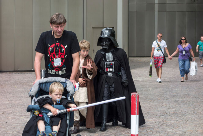 Star Wars Celebration in der Messe Essen, 28.7.2013