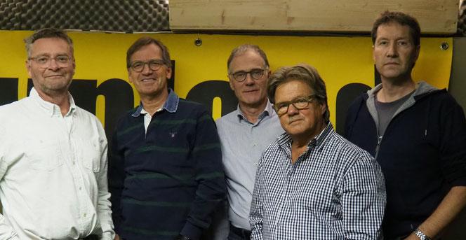 Cédric Thalmann (git), Hans-Jörg Scheitlin (key), Ueli Dürst (git/voc), Christian Wyss (bass), Bänz Marthaler (drum)