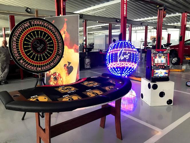 mesas de casino para fiestas
